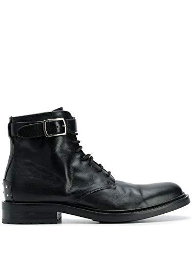 Saint Laurent Luxury Fashion Herren 58473100EXX1000 Schwarz Leder Stiefeletten | Herbst Winter 19