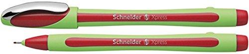 Schneider Xpress Fineliner (Strichstärke 0,8 mm, dokumentenecht)rot