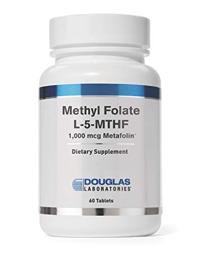 Douglas Laboratories - Methyl Folate (L-5-MTHF) - 1,000 mcg Metafolin Identical to the Naturally Occurring Form of Folate to Support Overall Health - 60 Tablets