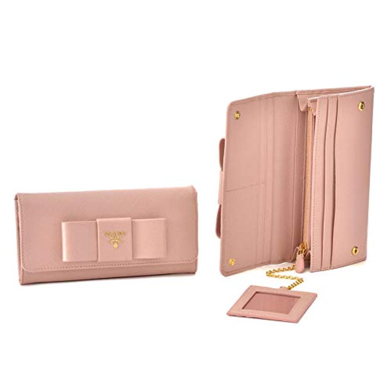 珍しいヒューズヤング[プラダ] 長財布 1MH132 ORCHID ピンク [並行輸入品]