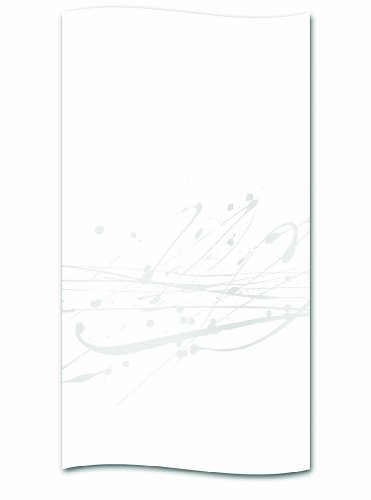 kela Duschvorhang Splash grau Polyester 180 x 200 cm