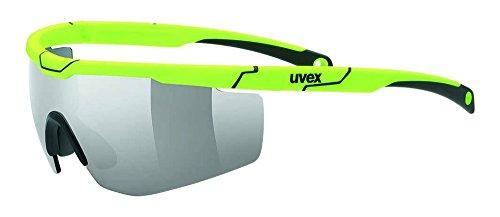 uvex Unisex– Erwachsene, sportstyle 117 Sportbrille, yellow, one size