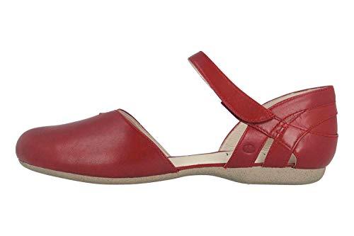 Josef Seibel Fiona 67 Sandalen in Übergrößen Rot 87267 971 396 große Damenschuhe, Größe:45