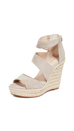 botkier Women's Julian Wedge Espadrilles, Taupe, Tan, 9.5 Medium US