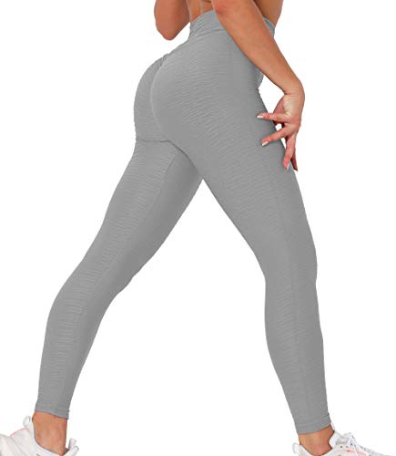 Lalamelon Mallas Push up Mujer Leggins Deportivos Yoga Leggings de Cintura Alta Pantalones Deporte para Fitness Running Elásticos y Transpirables