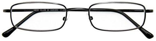 I NEED YOU leesbril Club M +3.50 Dioptrien antiek zilver