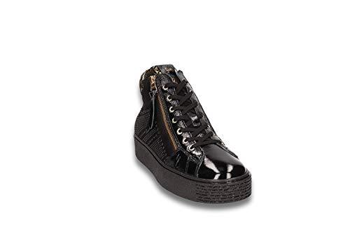 Sneaker alta platform donna - 37 - nero