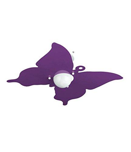 Plafoniera Farfalla Glicine per Camerette Stanzette Bambini