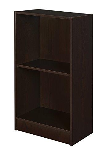 Niche Contemporary Bookcase, 29-Inch,Truffle