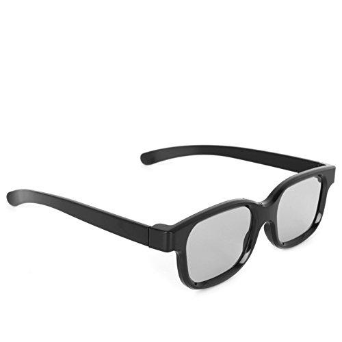 Qianqian56 Hoge Kwaliteit Gepolariseerde Passieve 3D Bril Zwart H3 Voor TV Real D 3D bioscopen