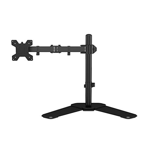 Dubbele Monitor Mount Arms 360 graden draaien Dual Screen Display Bracket Table Clamp Type Gratis Lifting Monitor Holder (Color : Black, Size : C)