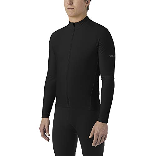 Giro Herren M Chrono LS Thermal Jersey Fahrradbekleidung, Black, S