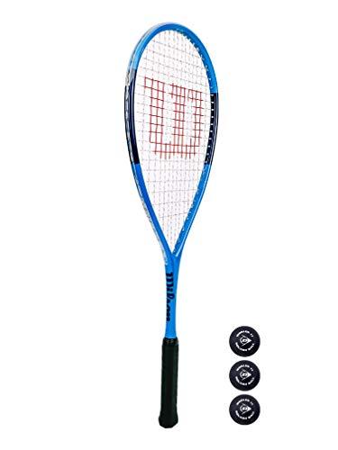 Wilson Ultra Elite - Racchetta da squash + palline da squash (varie opzioni disponibili)
