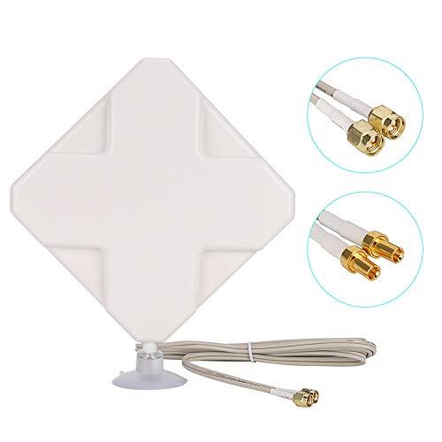 Diyeeni 4G-antenne, 4G/3G 35dBi High Gain Router antenne voor Huawei E5375 ZTE router met 2 m kabellengte, SMA