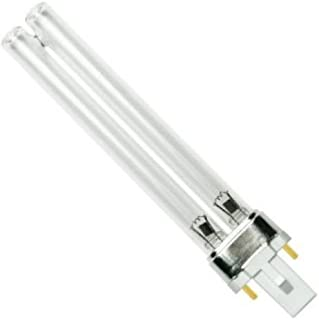 Starlighting 9W CoralLife 3X, 77082, Turbotwist 9 Watt OEM Quality, Premium Compatible UV Germicial Sanitizer Ultraviolet Bulb G23 Base Lamp