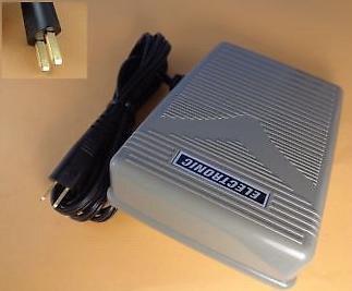 SEW-LINK Pedal de Control con Cable acomoda a Muchas Husqvarna Viking máquinas de Coser y serger equiv diseñador Topaz 40, Opal 690q, Opal 670, Platinum 955 e, 950 e, Platinum Plus