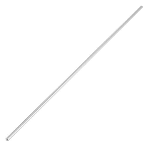 Linear Shaft Straight Round Rod 6mm Diameter Model Straight Metal Round Shaft Rod Bars for DIY RC Car, RC Helicopter Airplane(400mm)