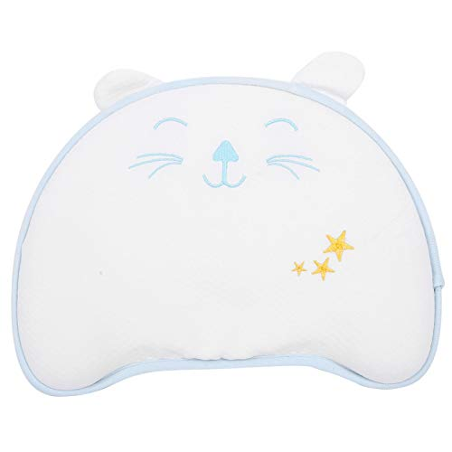 Almohada de espuma viscoelástica para bebé transpirable para dormir para bebé para niña