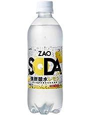 ZAO SODA 強炭酸水 500ml×24本 (レモン)