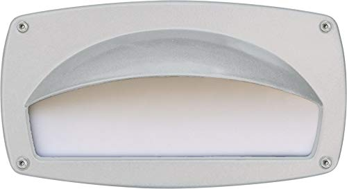 DABMAR LIGHTING DSL1014-LED9-W Step Light with Eyelid 9W LED G24 120V, White