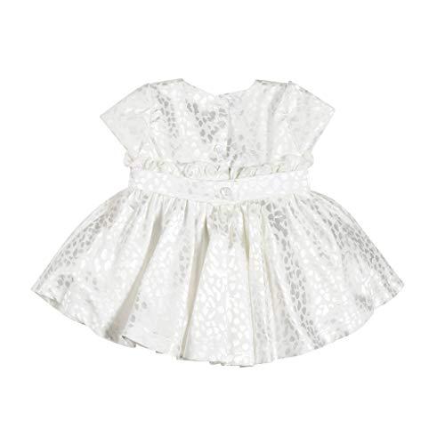 John Richmond Vestido blanco de ceremonia para niña crema 1 meses