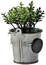 TGM Fridge Magnet Plastic Flower Pot for Home Decor (Green)