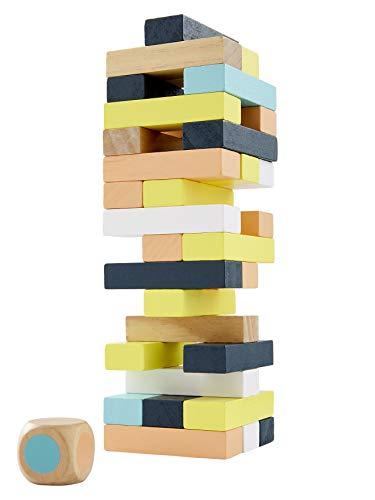 Vertbaudet Turmspiel aus Holz Mehrfarbig ONE Size