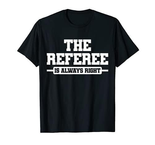 Árbitro Ref Umpire Camiseta