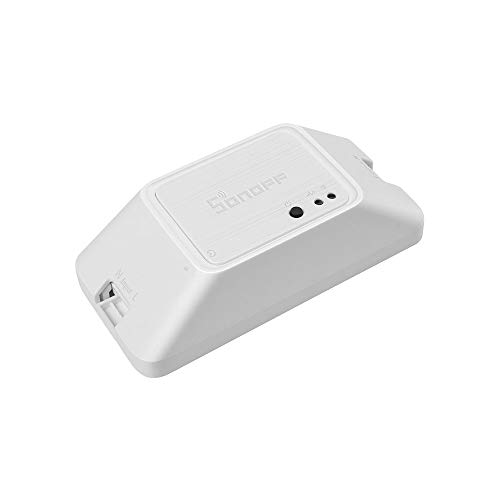 SONOFF BASICZBR3 Zigbee Smart Switch,Compatible avec Amazon Alexa (Alexa APP & Vocale Contrôle),Fonctionne avec SmartThings Hub et Contrôle via SmartThings APP,10A