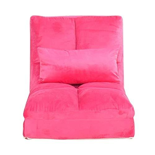 Diaod Sofá Perezoso, Tatami Plegable sofá Cama Individual Creativo Dormitorio Multifuncional Sofá