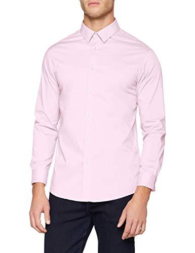 Celio MASANTAL1, Chemise Slim coton stretch, Homme, Rose (Pink), X-Large