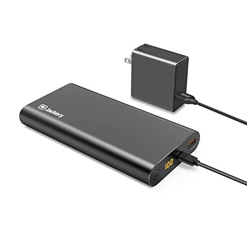 Jackery Supercharge 26800 PD 26800mAh Portable Charger Power Outdoors USB C 45W Power Bank amp 45W Wall Charger for iPhone 8/ X Nexus 5X 6P USB C LaptopsegMacBook Nintendo Switch Power Delivery