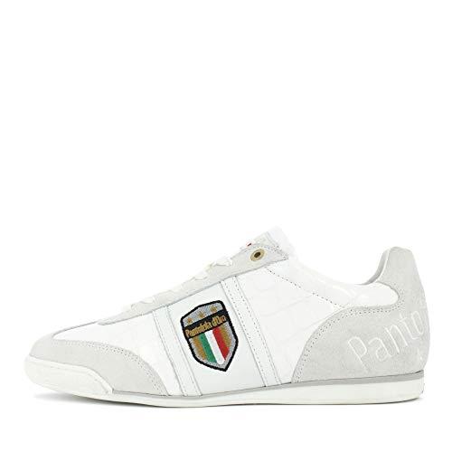 Pantofola d'Oro Herren Sneaker Low Fortezza Uomo Low, Farbe: Bright White 10203047 1fg, Size 41