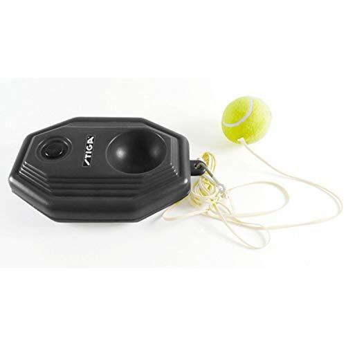 Stiga, set allenamento per il tennis, con base, corda elastica e palla