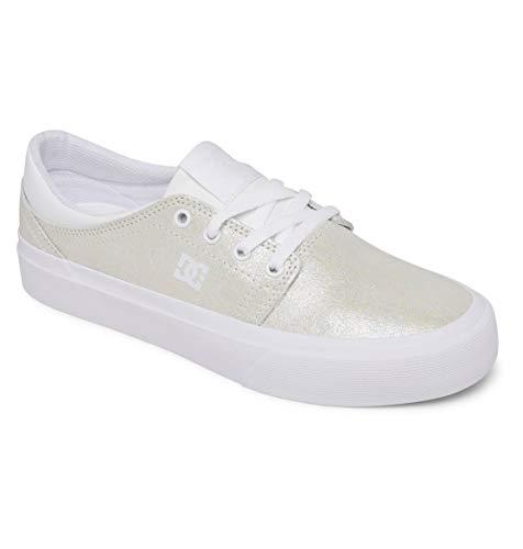 DC Shoes Trase damskie buty typu sneaker, biały - 37.5 EU