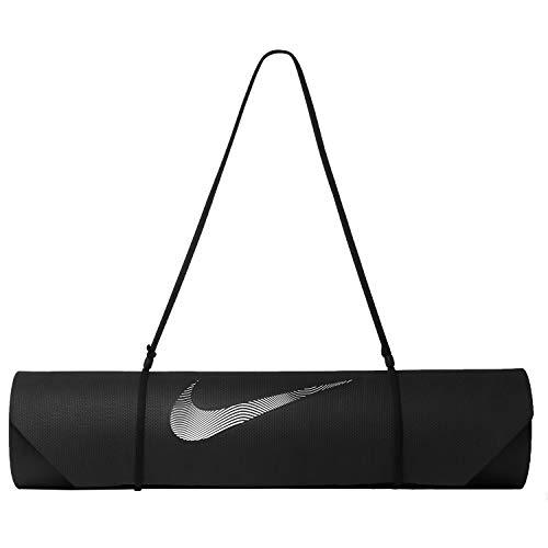 Nike Unisexe – Adulte Training MAT 2.0 Tapis de Yoga Noir/Blanc NS