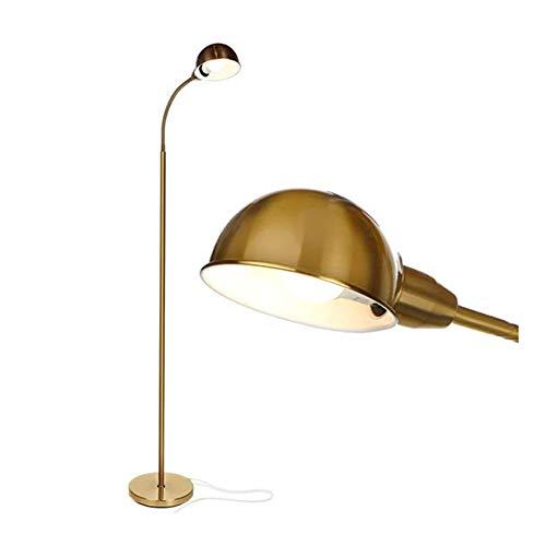 L-yxing-alto brillo Lámpara de pie de foco de artesanía, mesa de estudio, tarea de lectura ajustable, lámpara de escritorio, lámpara LED, aleación de mod No lastimará tus ojos (Size : 4000K)