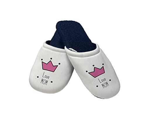 Pantofole Festa della Mamma - Pantofole Mamma - Love Mom - Festa della Mamma - Idea Regalo Mamma - Pantofole - Idea Regalo Festa della Mamma