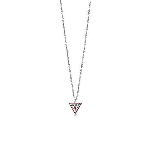 Guess Cadena de acero inoxidable para mujer, talla única, 87858961