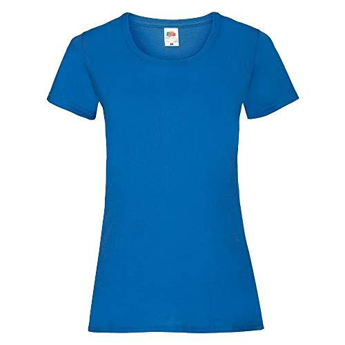 Fruit of the Loom - Lady-Fit Valueweight T - Modell 2013 L,Royal
