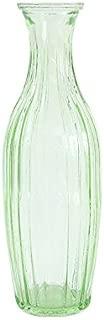 Office Decor Transparent Crystal Glass Vase Flower Plant Vase Household Wedding Decoration Hydroponic Bottle Vases Kangsanli (green)