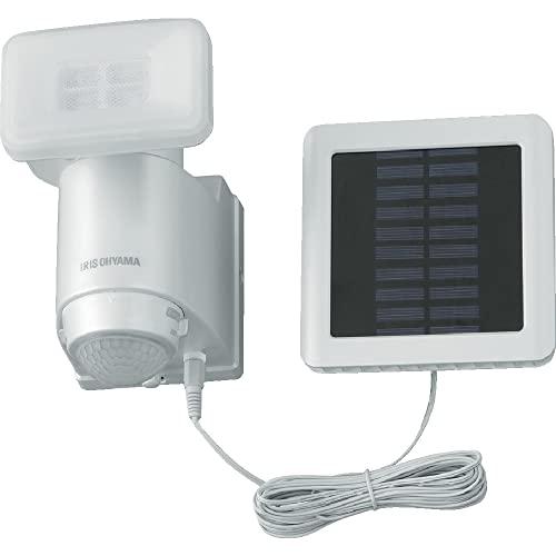 アイリスオーヤマ(IRIS OHYAMA) ソーラー式LED防犯センサーライト ソーラー式LED防犯センサーライト LSL-SBSN-400 パールホワイト