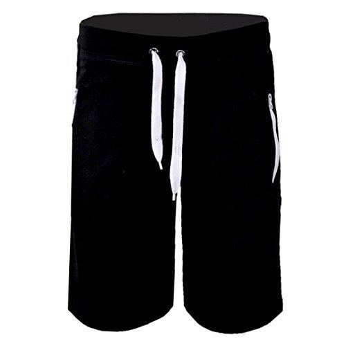 Malloom® Mode Mann Herren beiläufige Taschen Strand Arbeits zufällige Kurze Hosen-Kurzschluss...