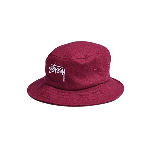 Stussy Unisex Hut aus lila Stoff 132783-RED