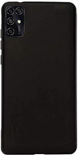 FLYME for ZTE Blade V20 Smart Case, Flexible Scratch Resistant Non-Slip Shockproof Cover Soft TPU Rubber Slim Fit Case,Black