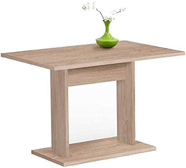 Paris Prix - Table De Repas Design sanary 110cm Naturel