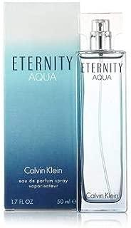 ĆK Eternity Aqua women Eau De Parfum Spray 1.7 OZ. Oz/ 50 ml