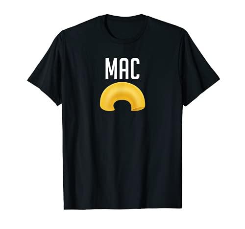 Divertido disfraz de macarrones y queso para Halloween Camiseta