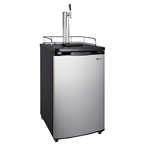 Hot Sale Kegco K199SS-1 Kegerator Keg Beer Cooler - Single Faucet - D System - Stainless Door