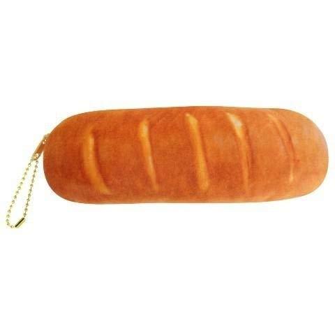 XJ - Estuche para lápices de pan (2 unidades), diseño de pan francés